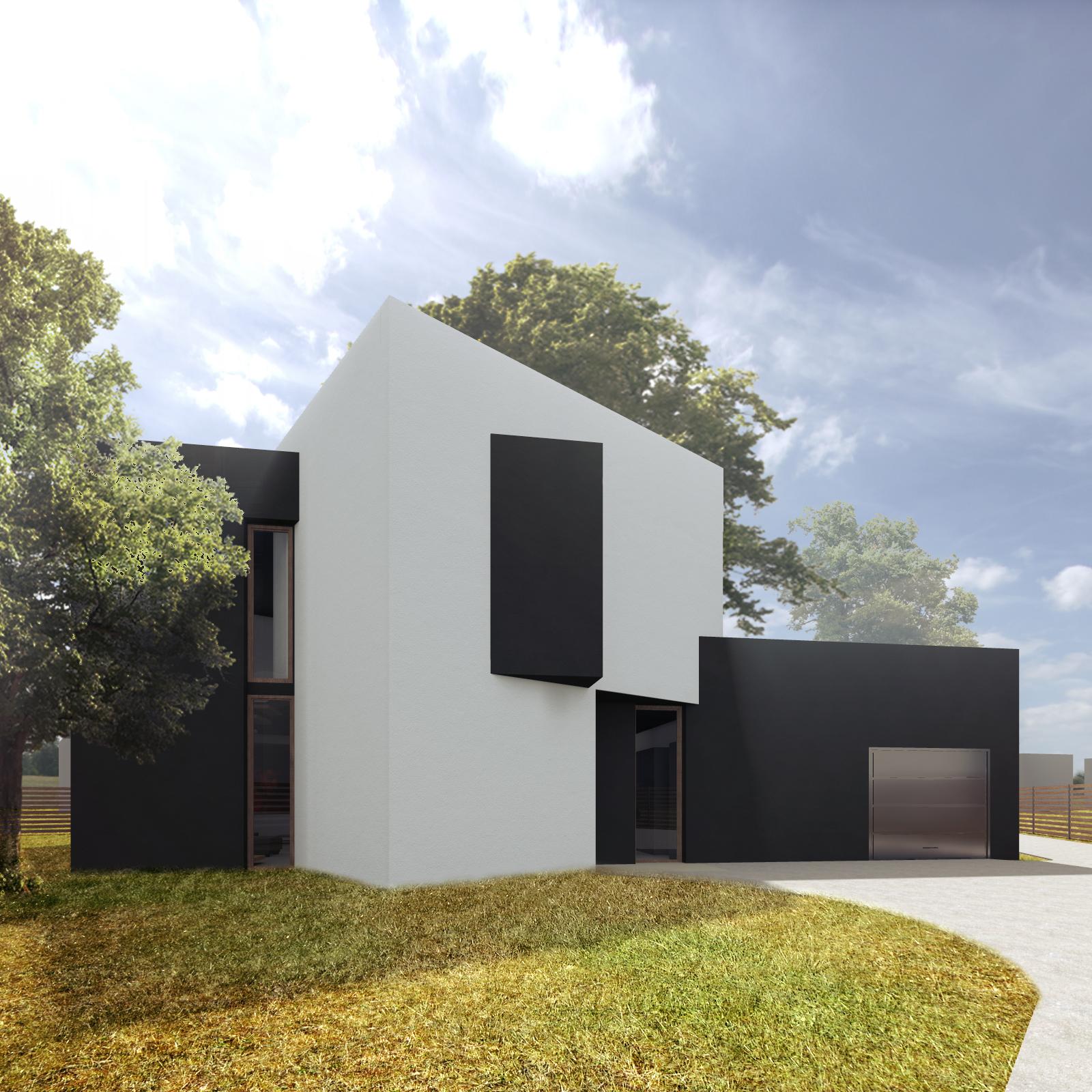 dom skrecony, projekt budowlany, atelierps