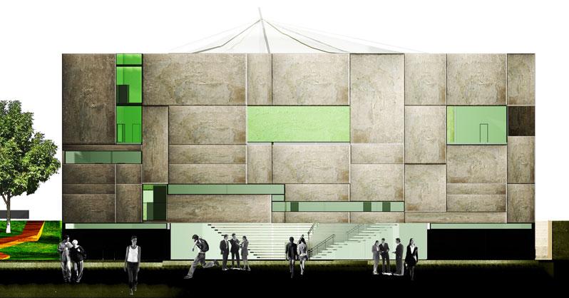 konkurs, budynek dydaktyczno-badawczy, kulturalny, asp, katowice