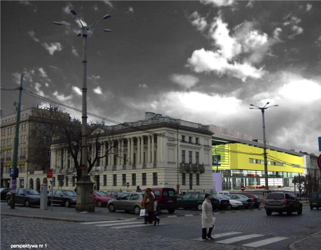konkurs, rozbudowa biblioteki raczynskich, poznan, kontekst