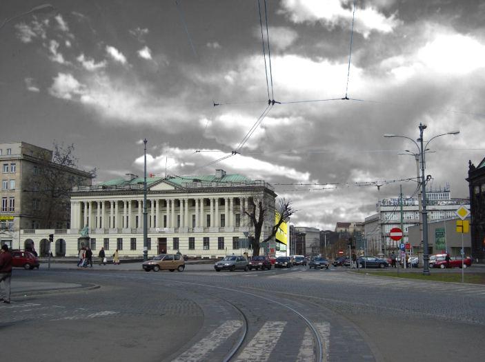 konkurs, rozbudowa biblioteki raczynskich, poznan, miasto