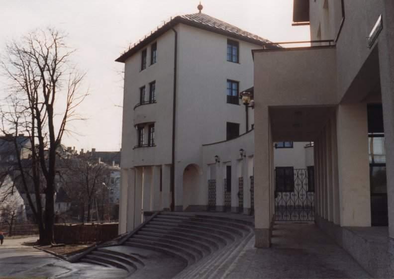 Osrodek wydawniczy kosciola ewangelicko-augsburskiego, bielsko-biala, schody