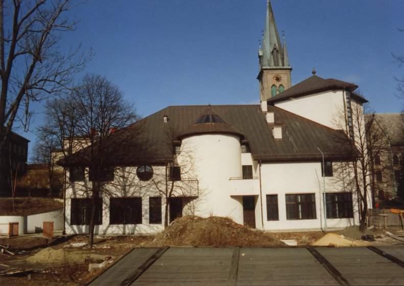 Osrodek wydawniczy kosciola ewangelicko-augsburskiego, bielsko-biala, elewacja