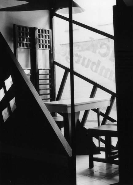 wnetrze, bar1, krakow, black&white, atelierps