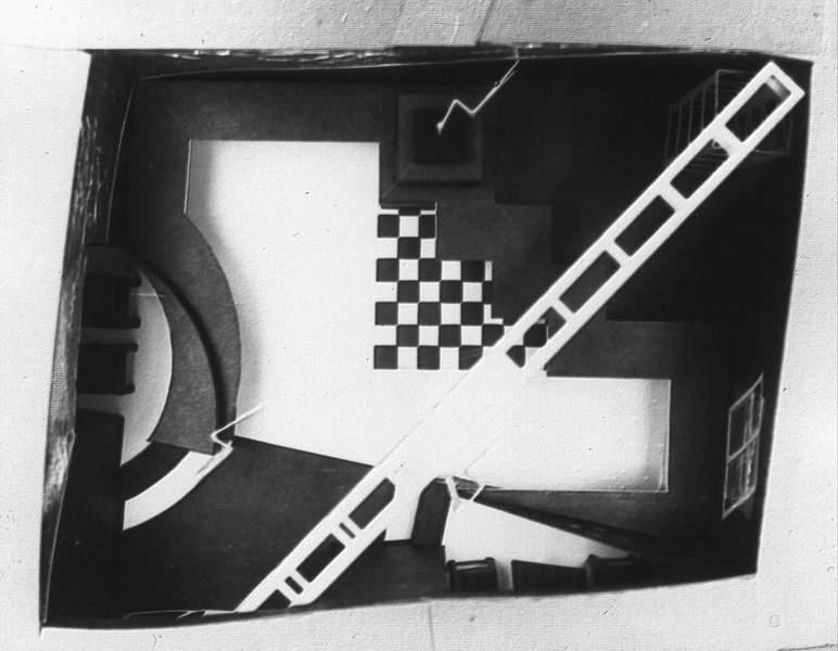 wnetrze, bar1, krakow, black&white