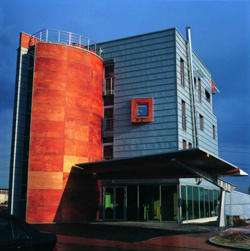 dbt budynek biurowy, myslowice, 2002, atelierps